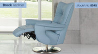 Himolla Brock Recliner with Footstool (manual version shown here). Ships free at Unwind.com
