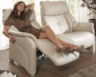 Relaxing on a Beautiful Chester Love Seat