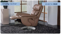 Crosby Integrated Recliner with Footstool- Ready to Soothe!