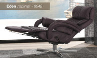 Eden Integrated Recliner with Footrest- Relaxation awaits!