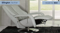 Himolla Ellington Recliner and Footrest- Model 8531