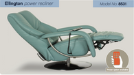 Himolla Ellington Power Recliner with Hand Controller