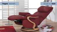 Himolla Vegas Recliner- Reclined and Relaxation-ready