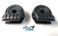 Stressless Glide Wheel Casing replacement. Set of two.