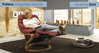 Palena Recliner with Integrated Footstool by Himolla. In-stock models available at Unwind.com ship quickly.