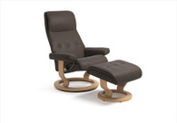 Swivel and Recliner with the Stressless Sky Recliner.