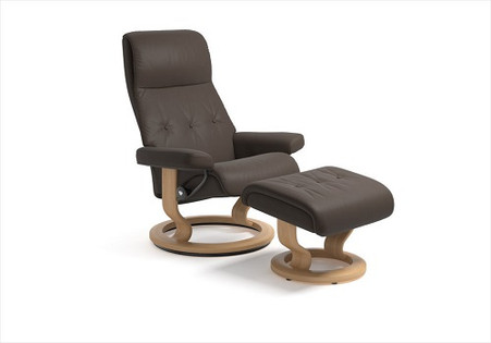Kick Your Feet Up In The Unbelievably Comfortable Stressless Sky Recliner.