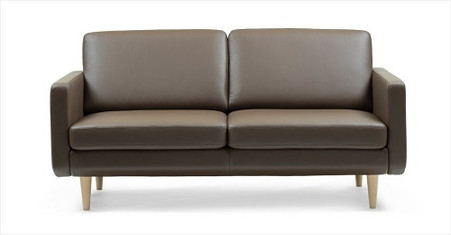 The Leo 2.5 Seat Sofa Is Available In Various Leather Color Options!
