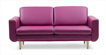 The Stressless 2.5 Seat Joy Sofa by Ekornes is beautiful and comfortable!