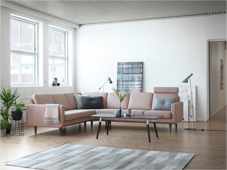The Stressless Leo Sectional by Ekornes is exquisitely comfortable!