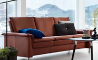 The Stressless Aurora Sofa is truly beautiful!