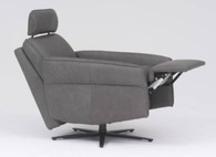 Talk about a transformation! From chair to fully-supportive recliner in seconds. This is serious comfort!