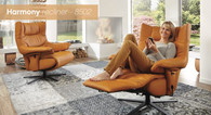 The Himolla Harmony Recliner- A fusion of relaxation and ergonomics.