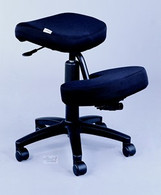 Jobri kneeling chair with Memory Foam Pressure Relieving Material- Black - Feels Great!
