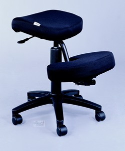 jobri kneeling chair featuring tempur pressure relieving material