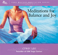 Meditations for Balance and Joy CD