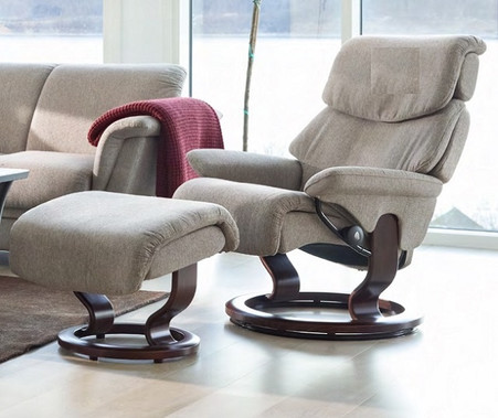 Fabric Upholsteries Are The Base Pricing For All Stressless Recliners