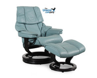 Aqua Green Paloma shown on this Large Reno Recliner (Vegas).
