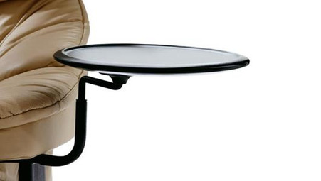 Stressless Swing Table is great for drinks or the easily-lost remote control