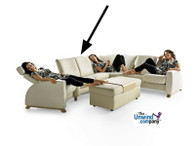 Ekornes Stressless Arion Low-Back Sofa- 1 Seat, No Arms