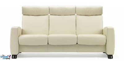 Ekornes Stressless Arion High-Back- 3 Seat Sofa