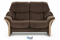 Ekornes Stressless Eldorado- High-Back Loveseat- Ships Risk-Free