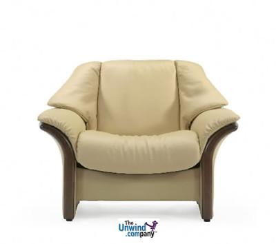 Ekornes Stressless Eldorado Low-Back- Chair- Ships Free