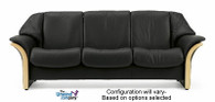 Ekornes Stressless Eldorado - Low-Back 3 Seat Sofa
