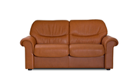 Brandy Paloma Stressless Liberty Lowback Loveseat