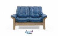 Ekornes Stressless Windsor Low-Back Loveseat