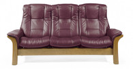New Winered Paloma is a very popular color choice for the Windsor Sofa with 3 seats.