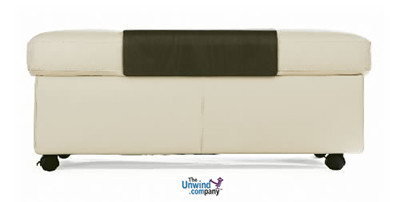 Stressless Double Ottoman- Double the storage from a regular ottoman.