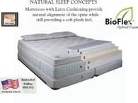 Scandinavian Sleep Systems - Scandia Spa Comfort Mattress - Twin Set