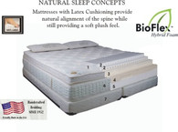 Scandia Spa Comfort Mattress Queen Size - Scandinavian Sleep Systems - Ships Free