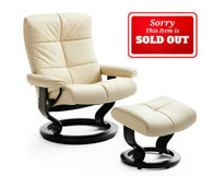 Stressless Oxford Recliners come with the ottoman at Unwind. Enjoy Fast Delivery