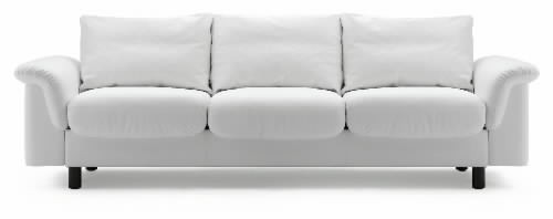 Stressless e300 3 seat sofa without back cushions ships for Settee without back