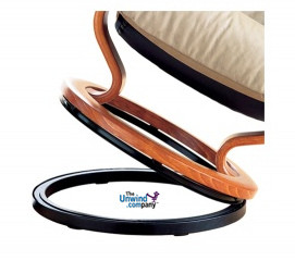 Ekornes Large Elevator Ring will lift your Ekornes chair about 1.33 inches