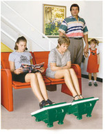 Medi-Rub Foot Massager is great for the whole family