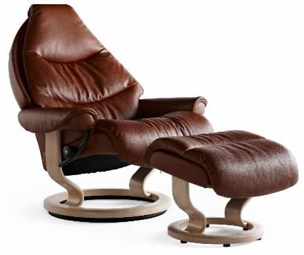 Ekornes Stressless Voyager Medium Recliners Amp Chairs