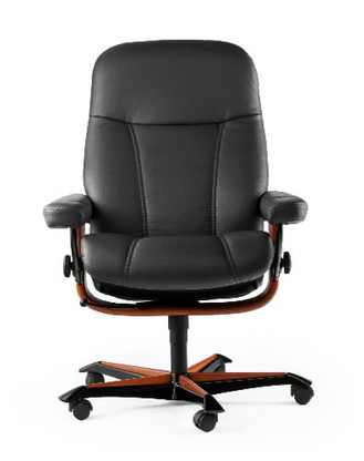 Ekornes Stressless Consul Office Chair- Ready to produce great head, neck and back support