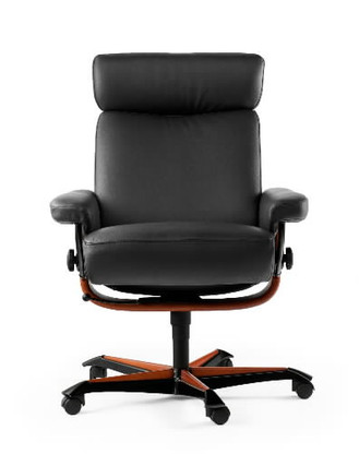 Ekornes Orion Office Chair- Relaxing, productive, modern.