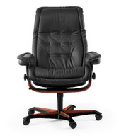 Ekornes  Royal Office Chair- Choose White Glove Delivery.
