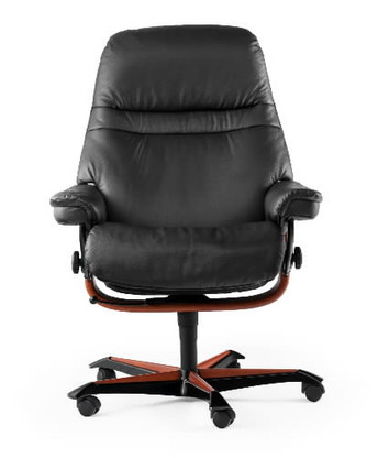 Ekornes Stressless Sunrise Office Chair- Ships Free with White Glove Delivery (as requested) at Unwind.com