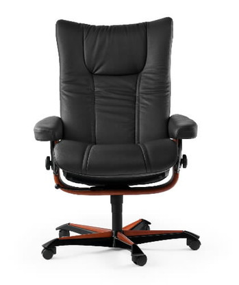 Ekornes Stressless Wing Office Chair- Ships Free at Unwind.com