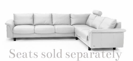 Ekornes Stressless E300 Corner shown with sectional (sold separately)
