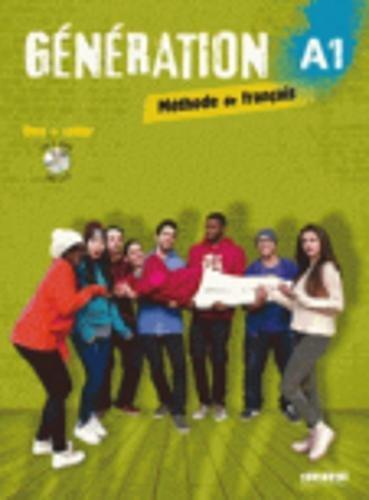Generation A1 Methode De Francais Livre Cahier Cdmp3 Dvd