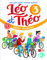 Leo et Theo 3 - Cahier d'activites workbook A2 - 11 x 8.5 x 0.2 inches - 72 pages Author: Apicella, Maria Angela and Guiilemant, Dominique Published by: ELI (European Language Institute) 2018 ISBN-13:  9788853623539 Section: French Language learning textbook