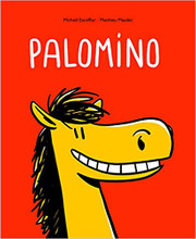 Palomino: Cardboard - 36 pages - 10 x 0.3 x 8.2 inches Author: Michael Escoffier and Mathieu Mudet Published by: Ecole Des Loisirs  ISBN-13: 9782211302814 Section: French children's book 1 To 4 Years