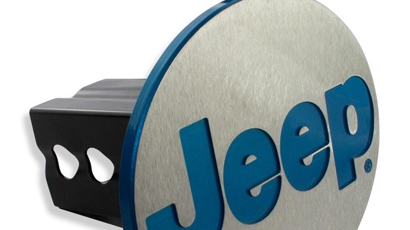 Jeep Hitch Plug - Color Match Lettering!