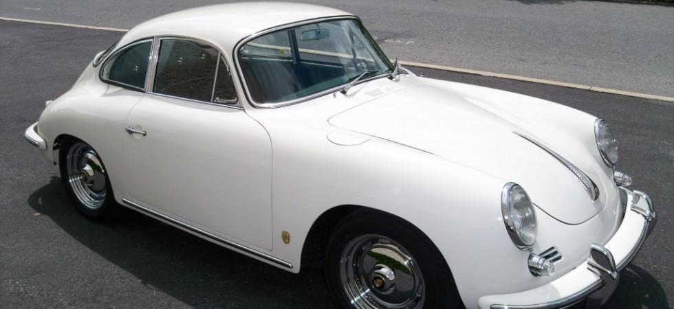 1962 356B White Porsche